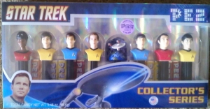 Star Trek PEZ set