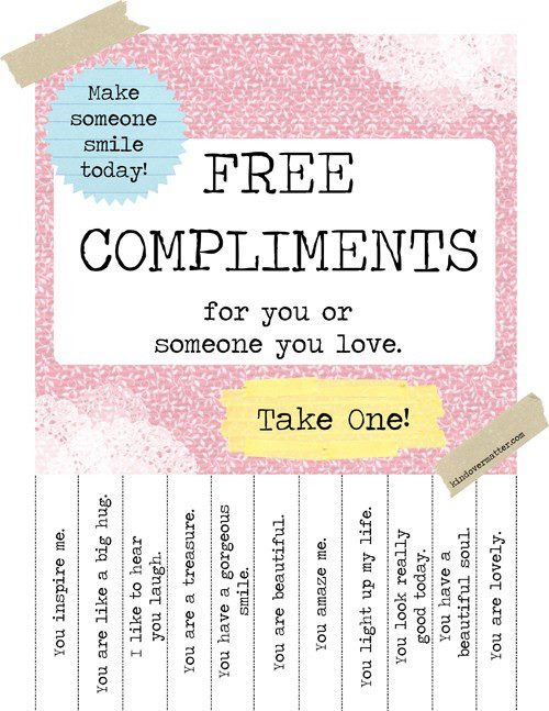 Need A Compliment? Take One! | DeniseMpls