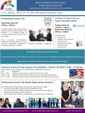 Exhibitor 2016 Forum Career Fair